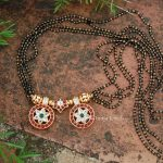 Trendy Black Beads Mangalsutra By South India Jewels!