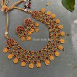 Classic Lakshmi Kemp Necklace By South India Jewels!