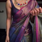 Silver Gold Plated Kundan Navarathana Haram By The Amethyst Store!