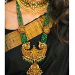 Emerald Choker Necklace Combo From Aarni by Shravani!