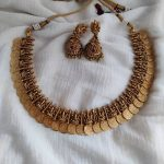 Gold-Plated Kasumala Necklace By The Posh Jewellery!