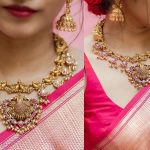 Antique Temple Jewellery Set By PraDe Jewels!