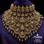 Nakshi Gold Lakshmi Choker By Amarsons Jewellery!