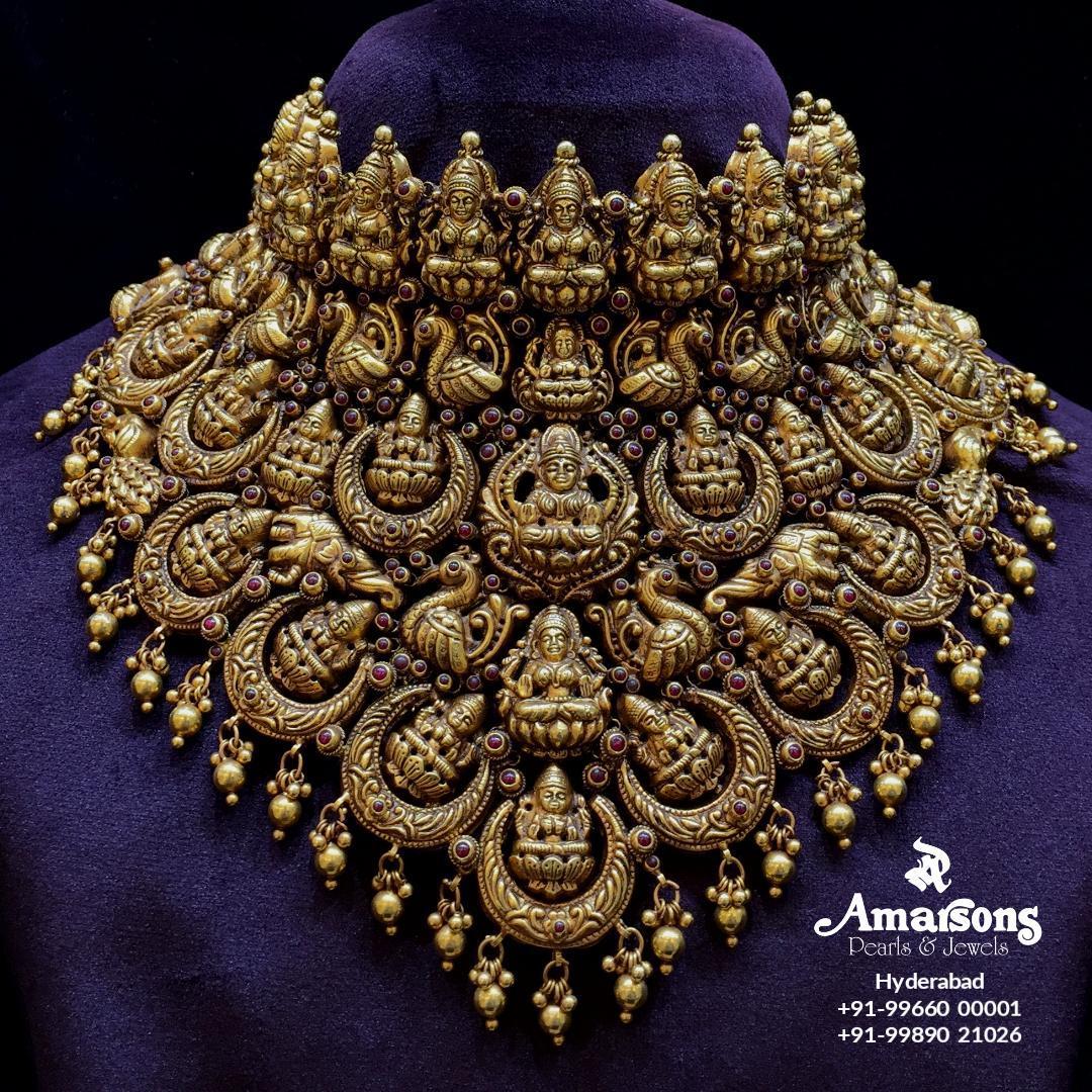 Nakshi Gold Lakshmi Choker