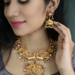 Gold Plated Antique Choker Necklace By Ms Pink Panther!!