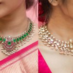 Kundan Necklace With Pearl Droppings By PraDe Jewels!