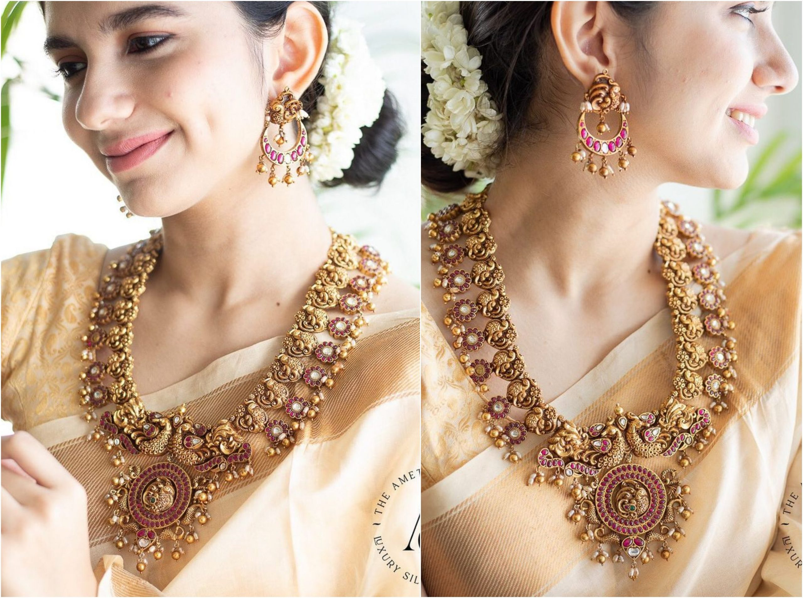 Deep Nagas Heavy Necklace