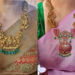 Traditional Kemp Nakshi Haram By Rajatamaya!