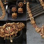 Nakshi Temple Jewellery Collection By The Sri Vasavi Thanga Maaligai