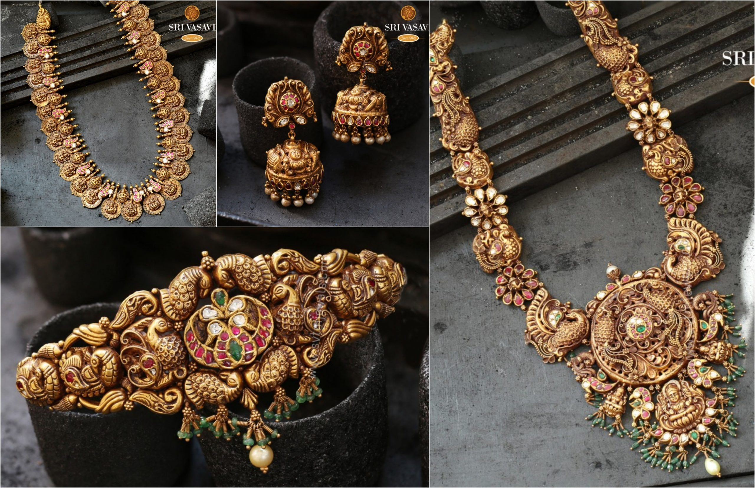 Nakshi Temple Jewellery Collection