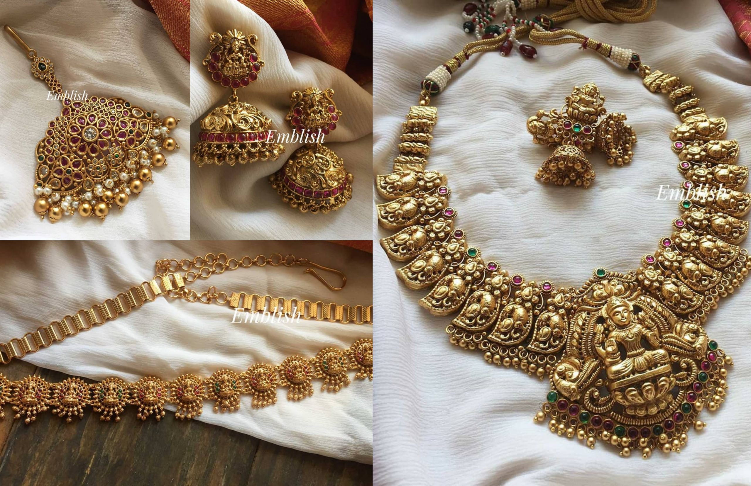 Traditional Temple Design Jewellery