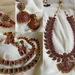 Stone Studded And Kemp Design Jewellery From House Of Jhumkas!