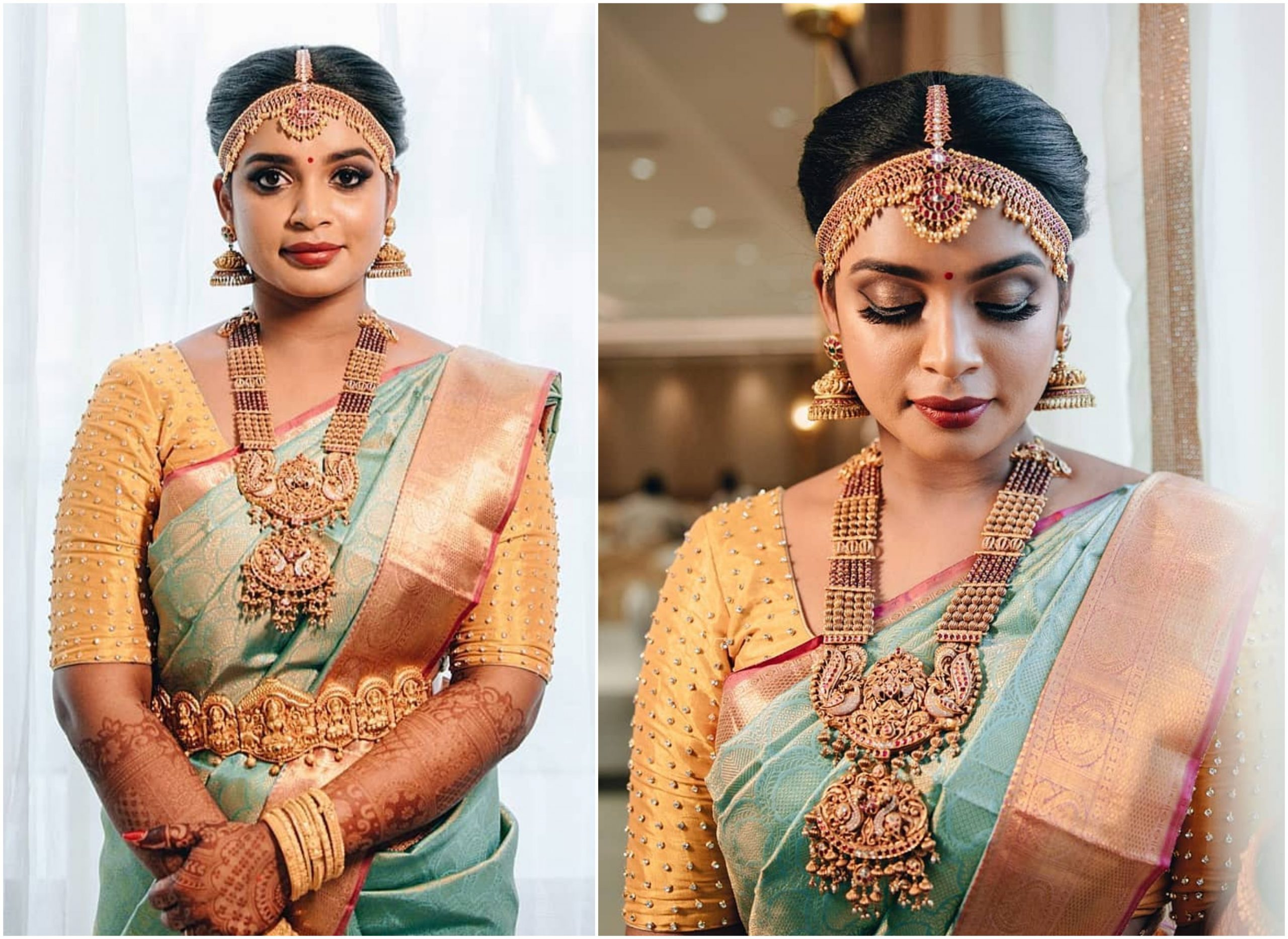 Heavy Traditional Jewellery Styling