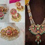Traditional Kemp Nakshi Jewellery By Rajatamaya!