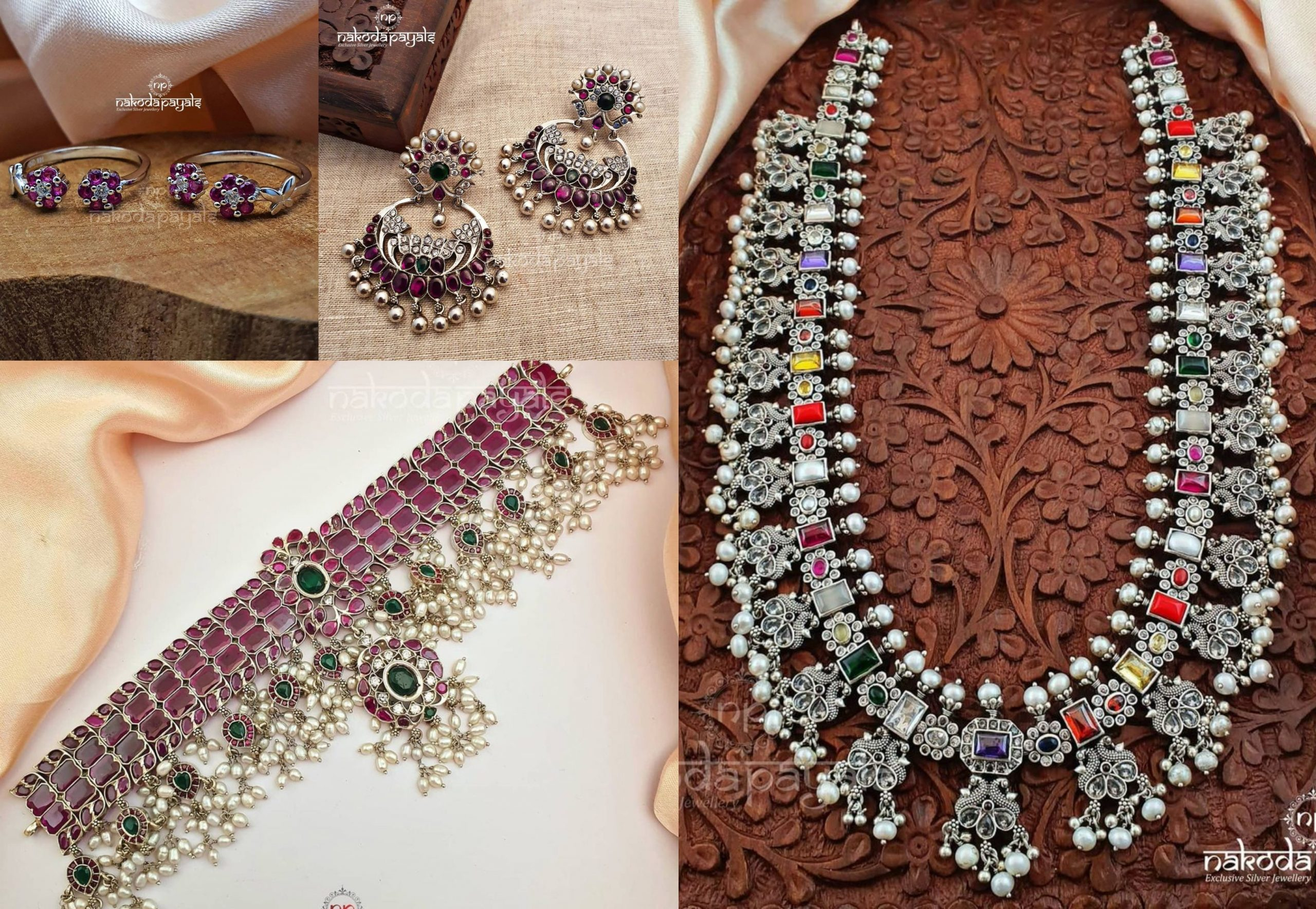 Silver Jewellery Exclusive Designs