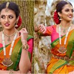 Traditional Pearl And Kemp Bridal Jewellery Set By Thavaamaly Jewellery