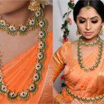 Chaand Design Emerald Necklace Set By Vrddhi Uk!