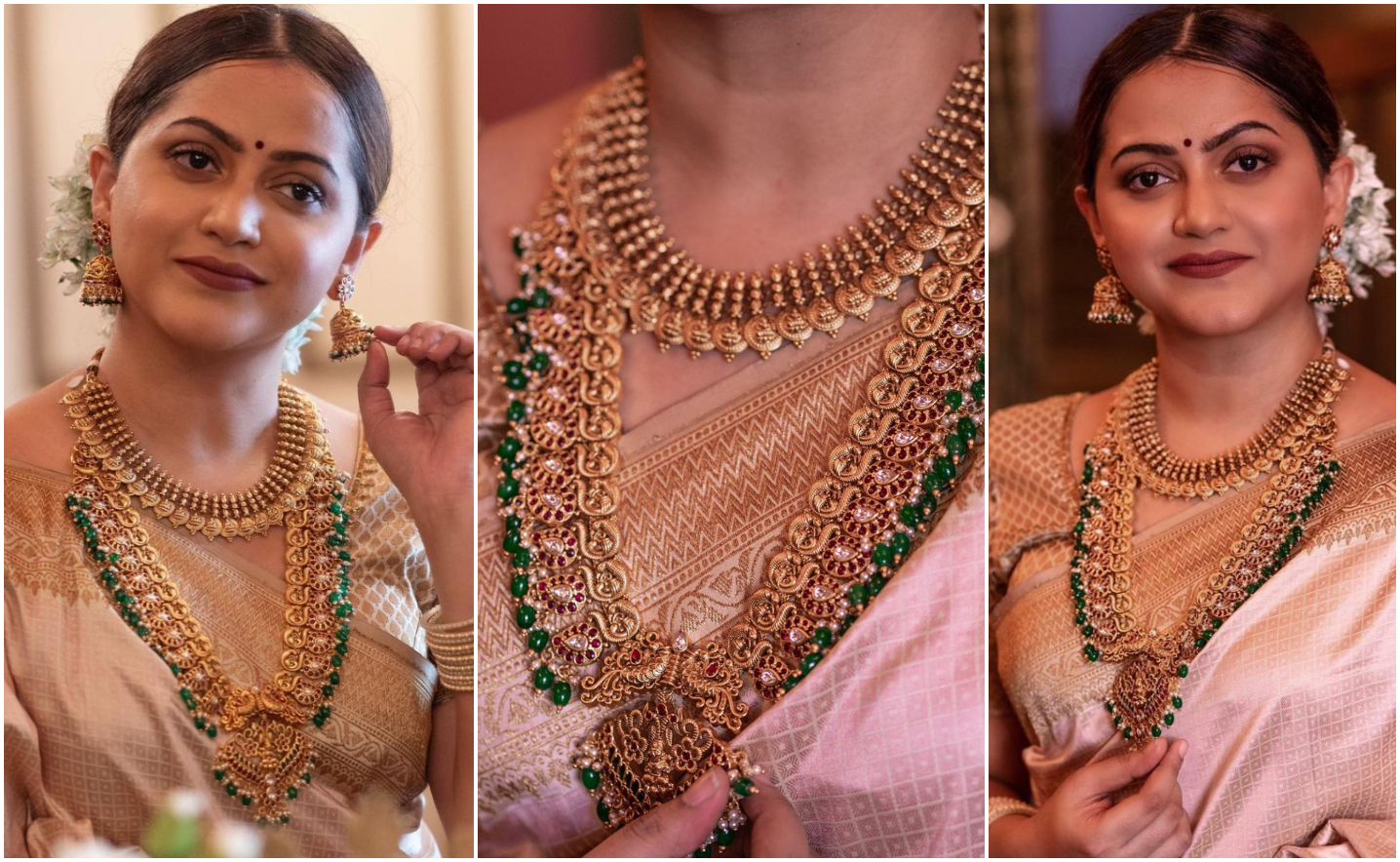 Multi-Layered Traditional Necklace Set