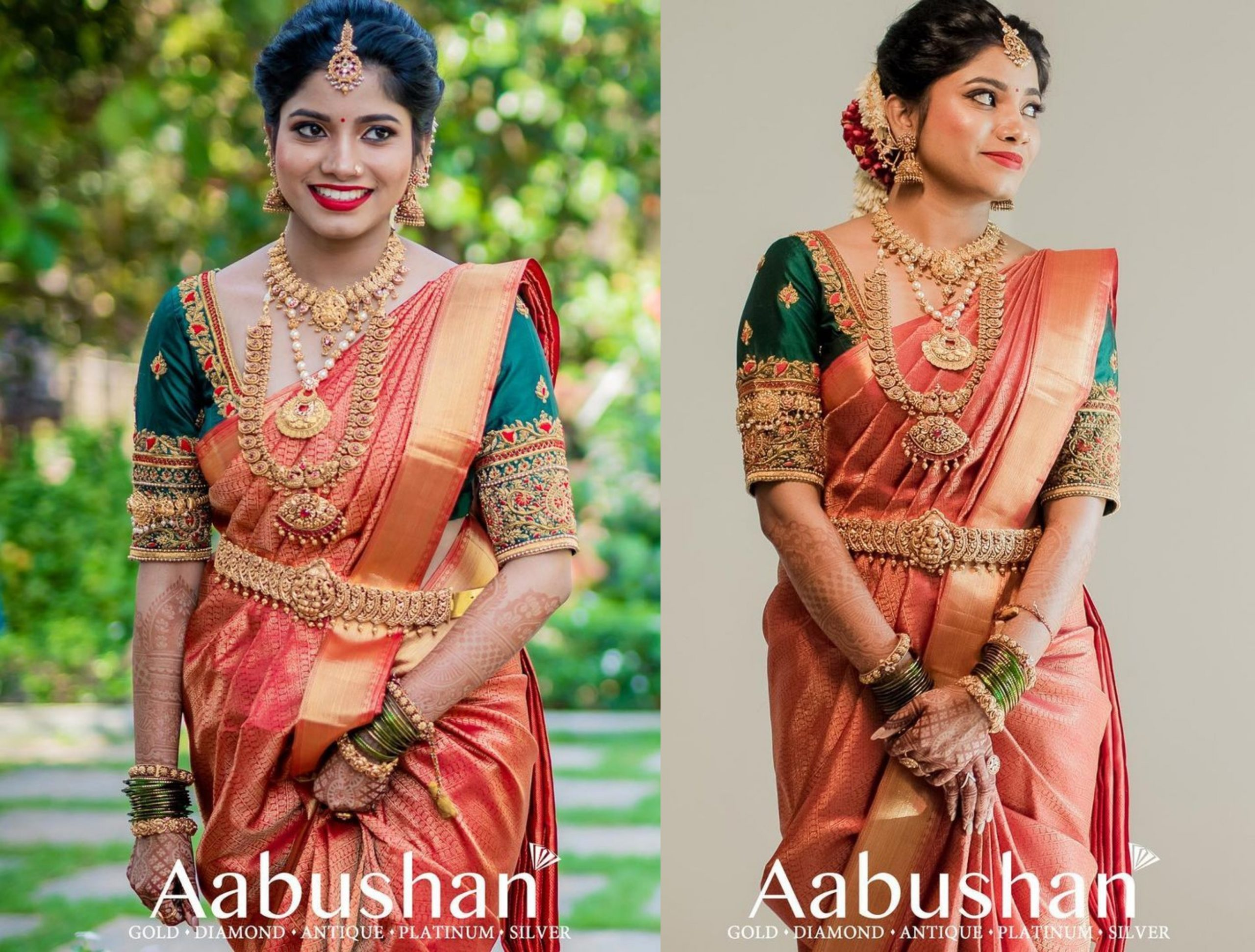 Antique Bridal Jewellery Collection By Aabhushan!!