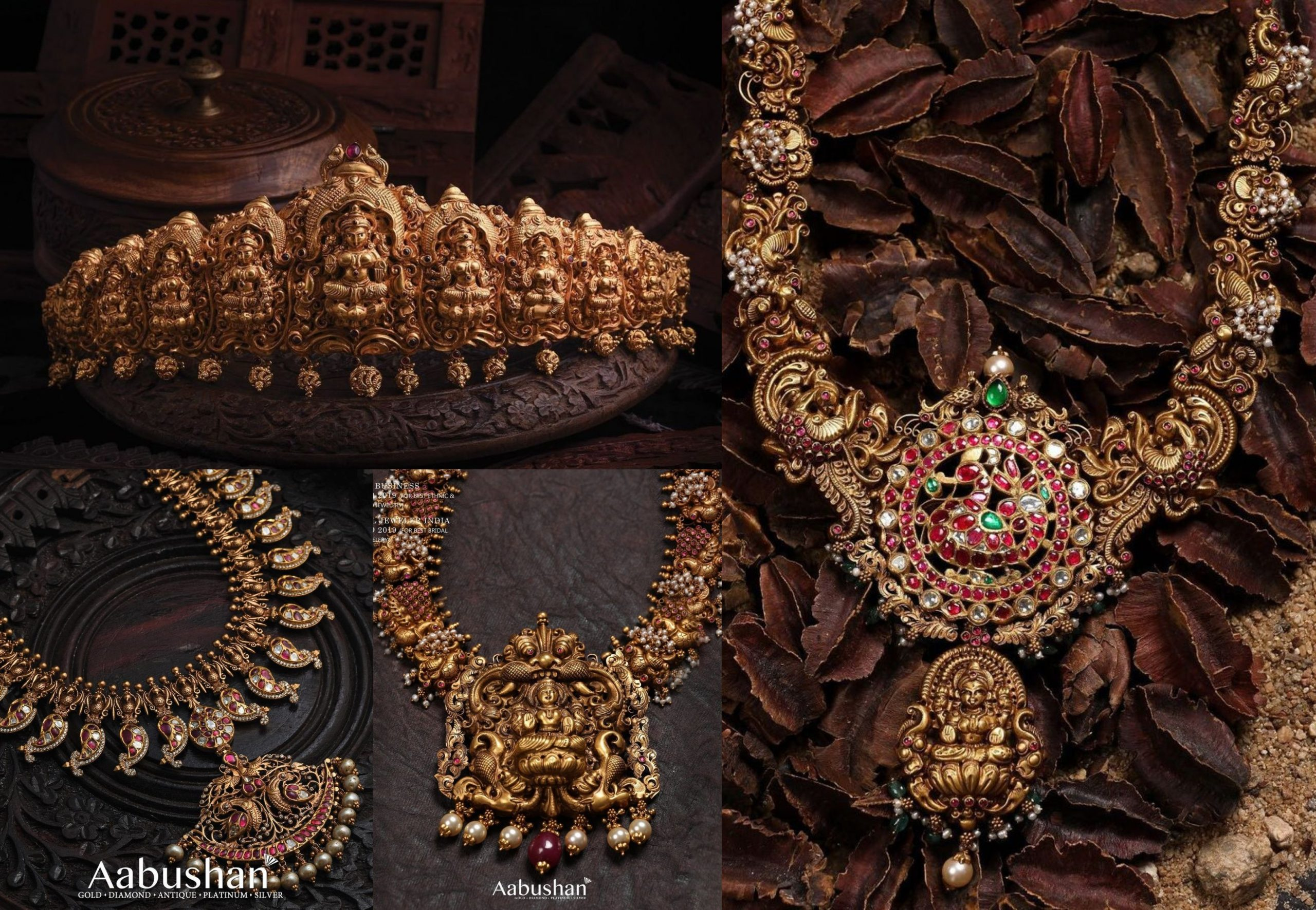 Antique Jewellery Collection By Aabhushan!!