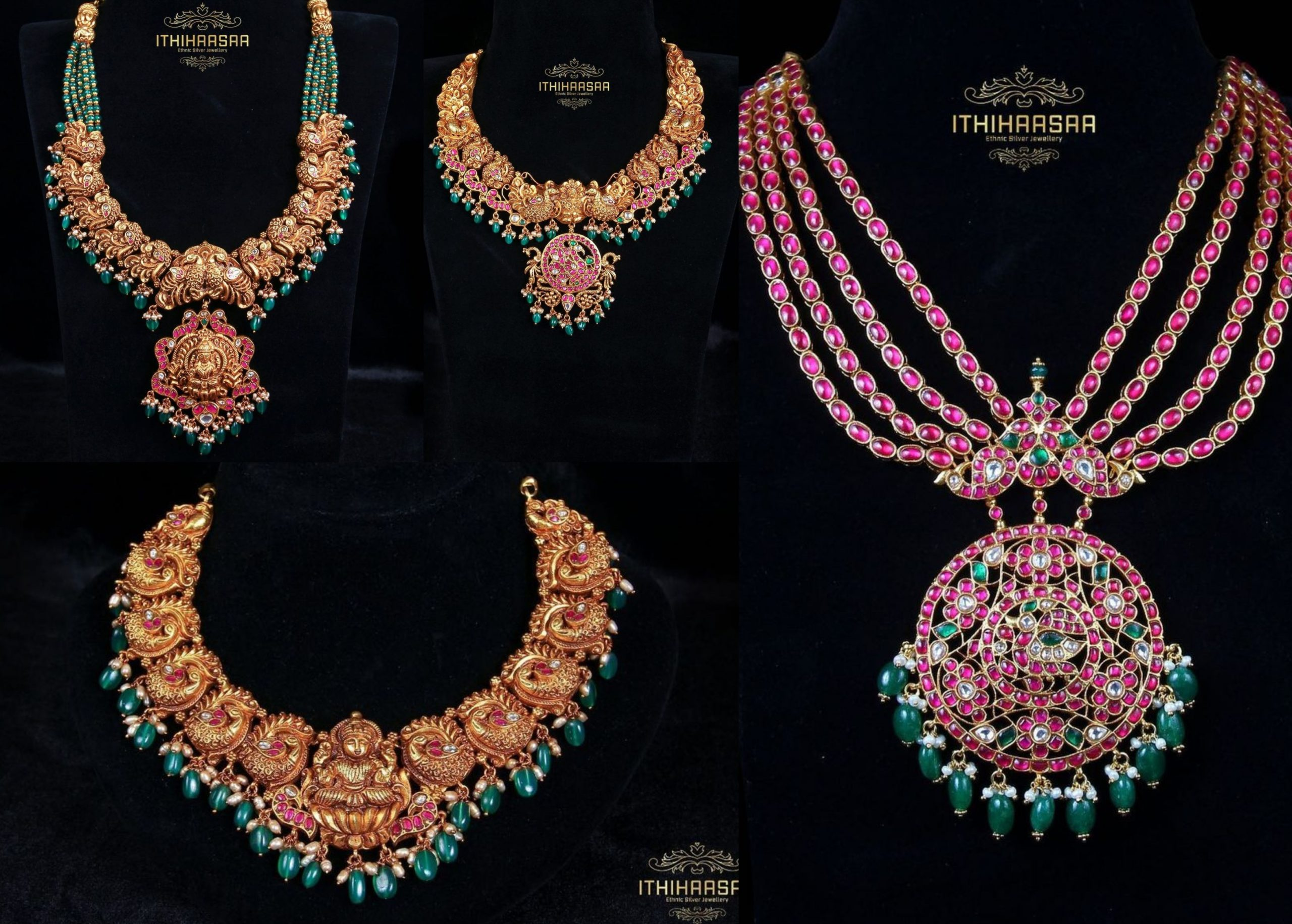 Traditional Necklace Design Collection