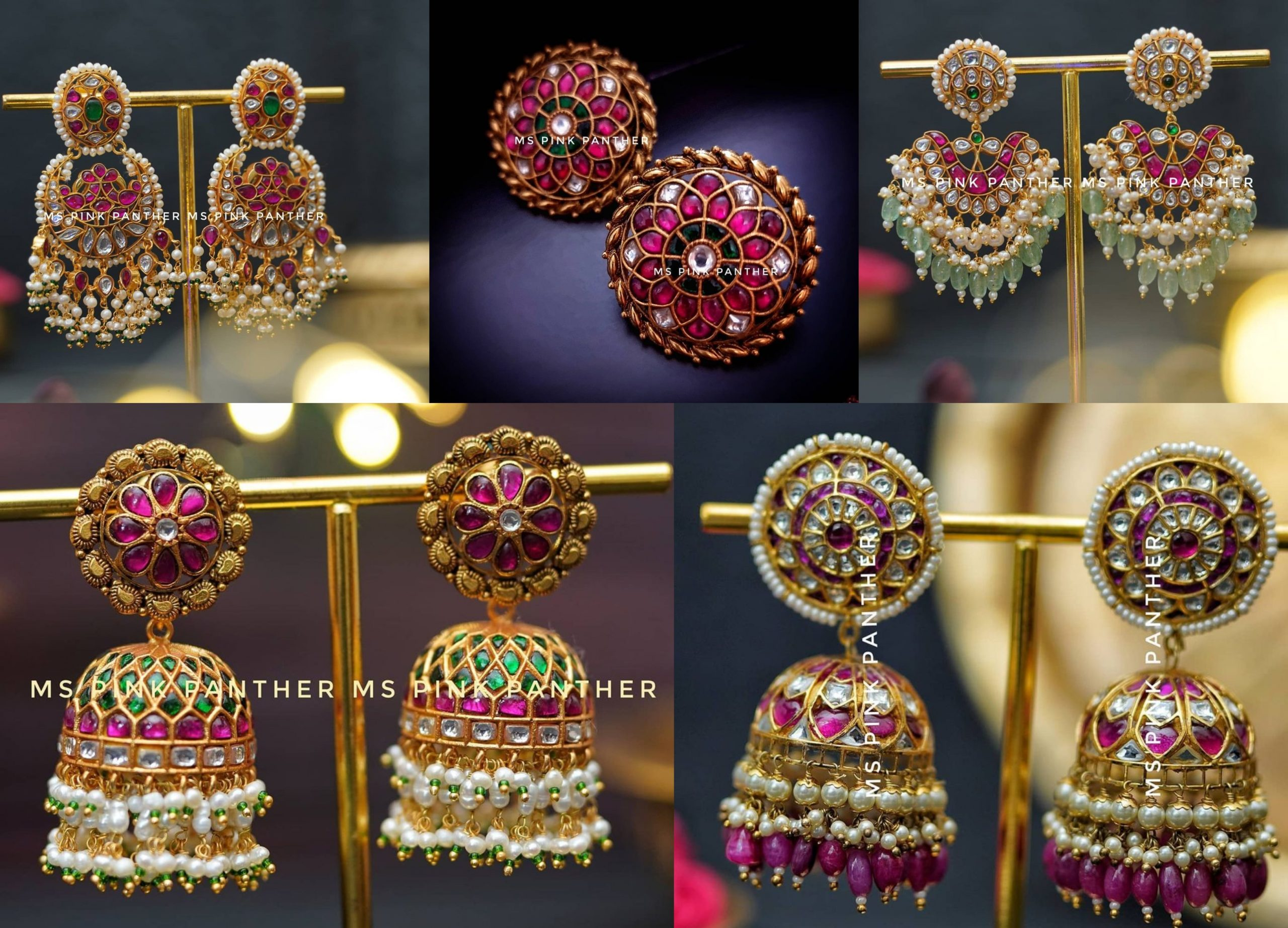 Styling Designer Earring Collection