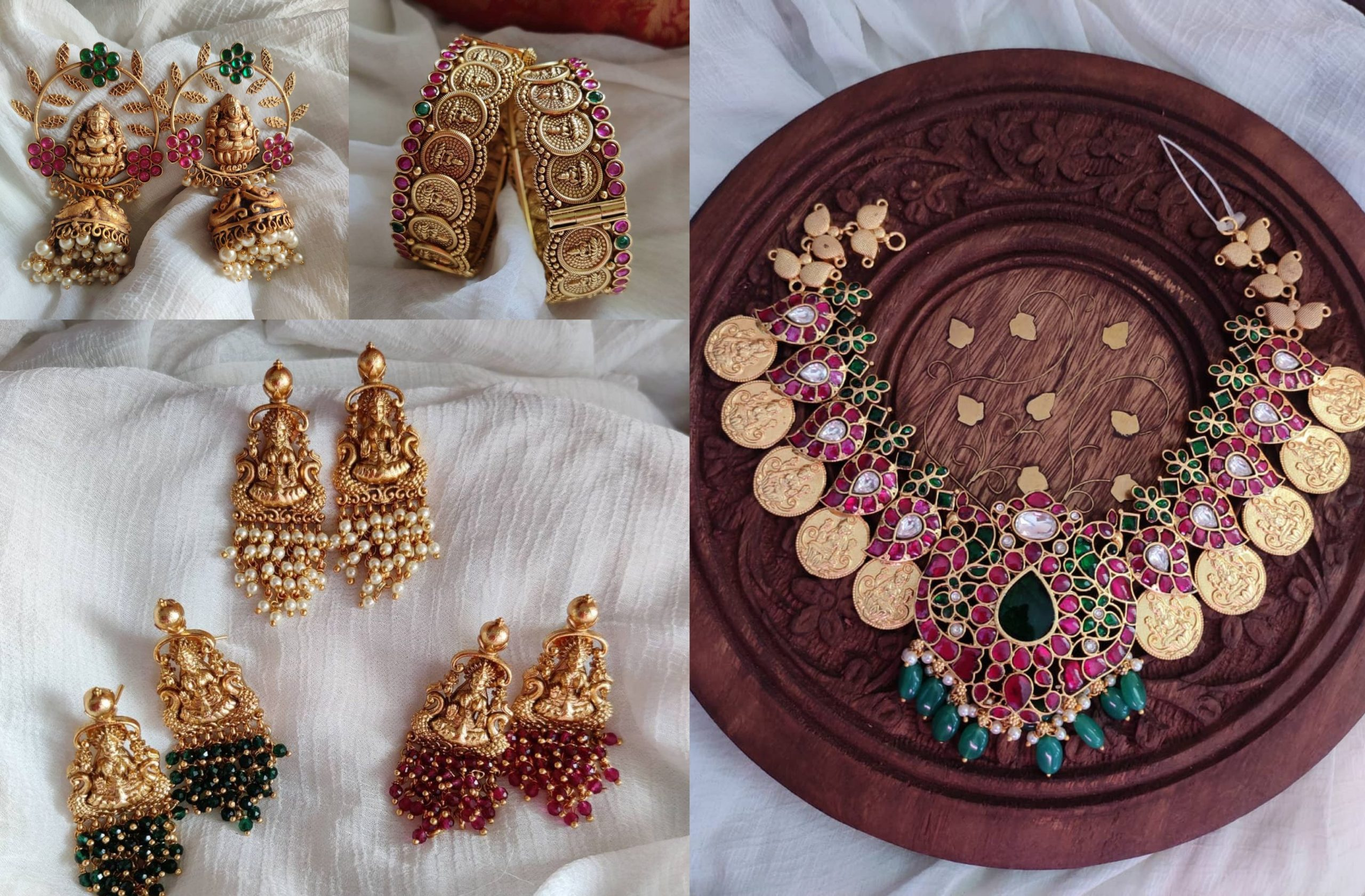 Traditional Temple Jewellery Collection