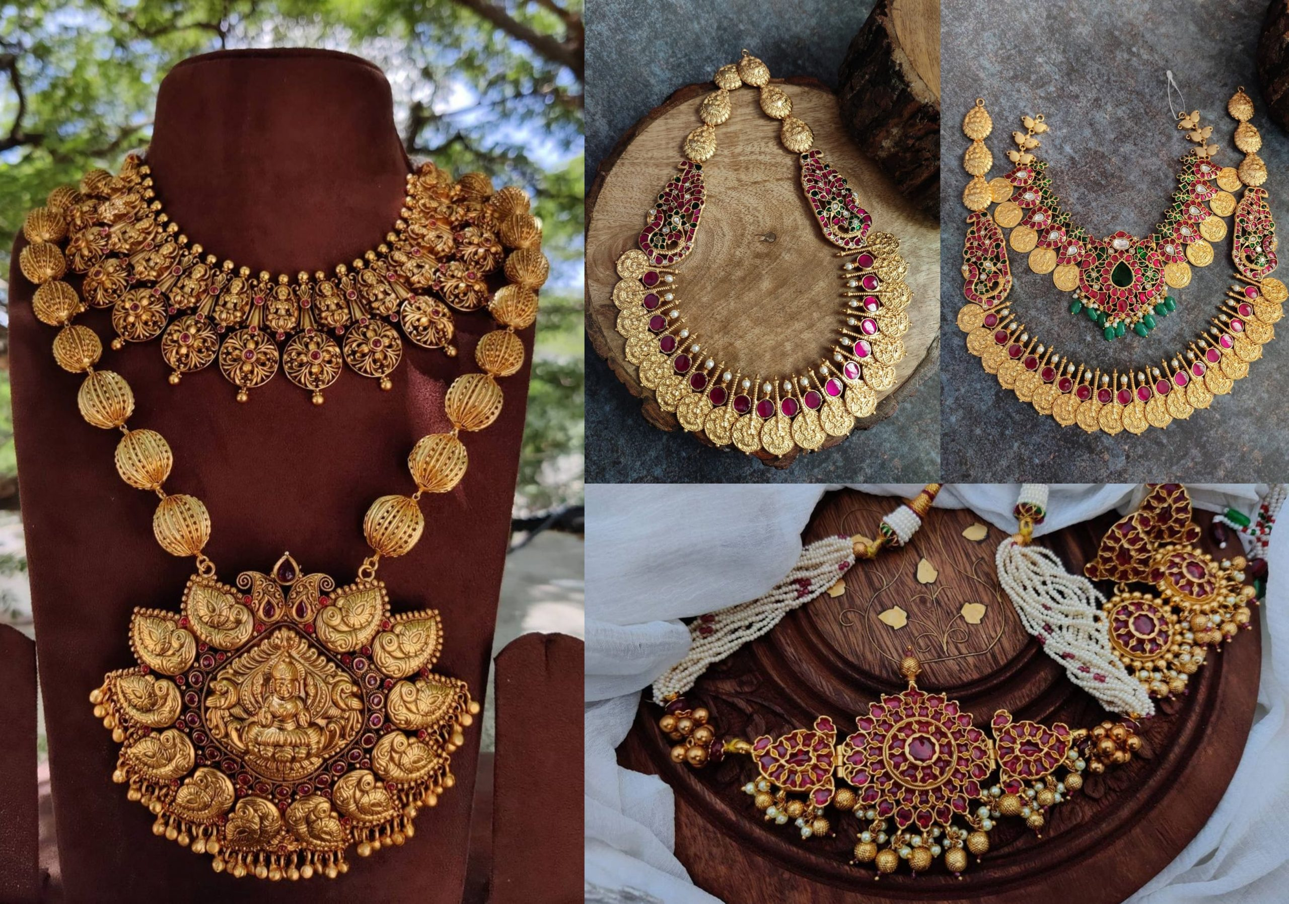 Traditional Temple Jewellery Collection By The Posh Jewellery!