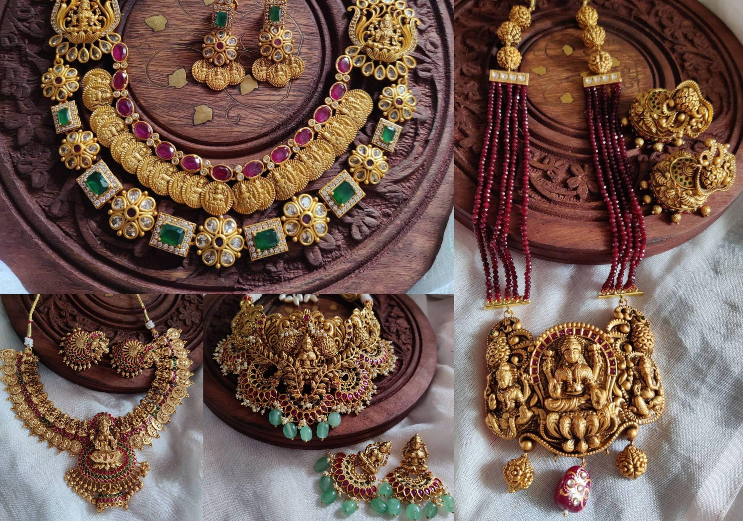 Antique Lakshmi Temple Jewellery Collection