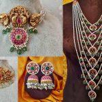 Gorgeous Kemp And Nakshi Work Jewellery By Rajatamaya!
