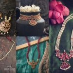 Kemp Studded Pendant Collection By Abharanam!