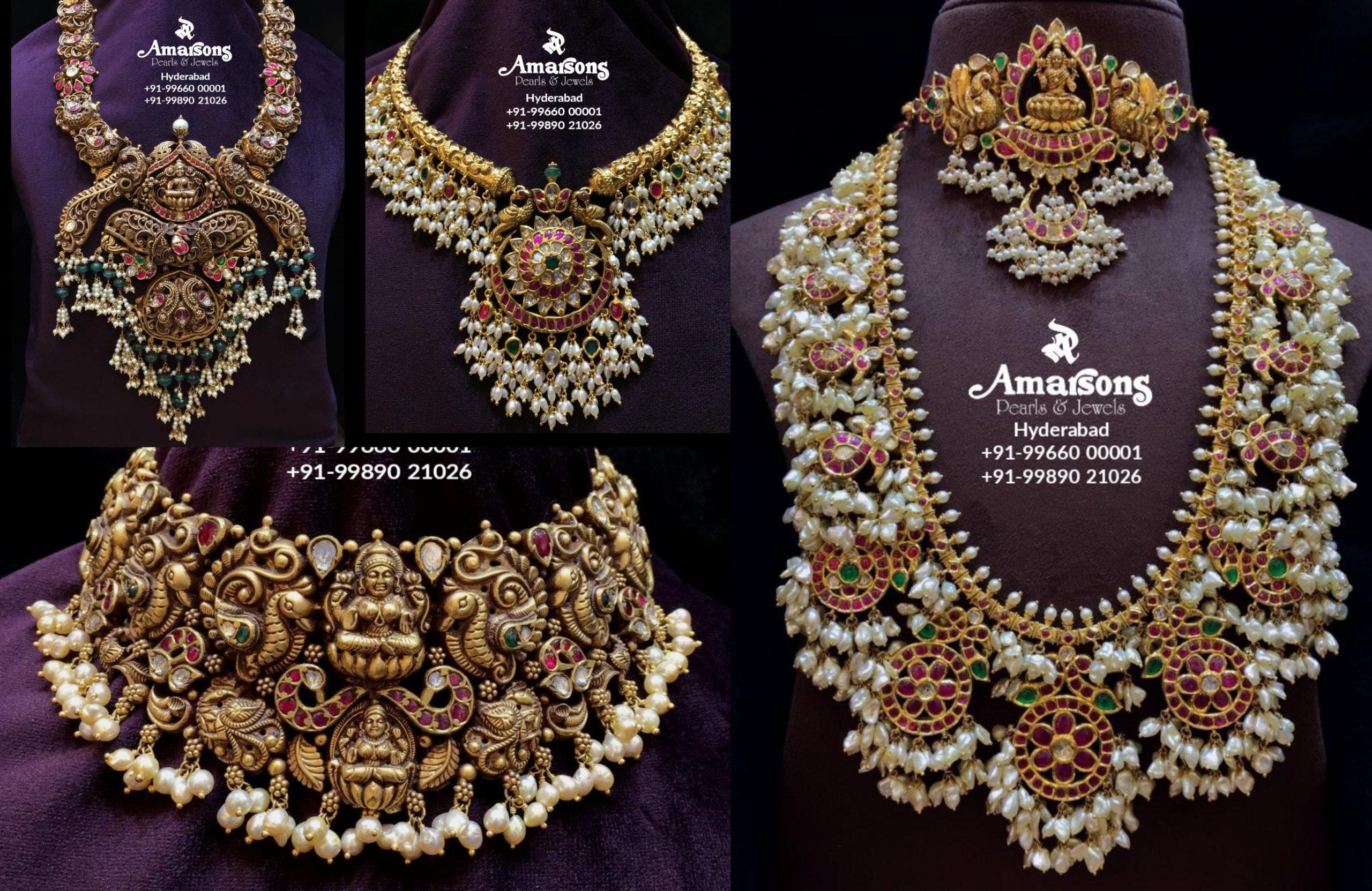 Guttapusalu Semi Bridal Collection By Amarsons Jewellery