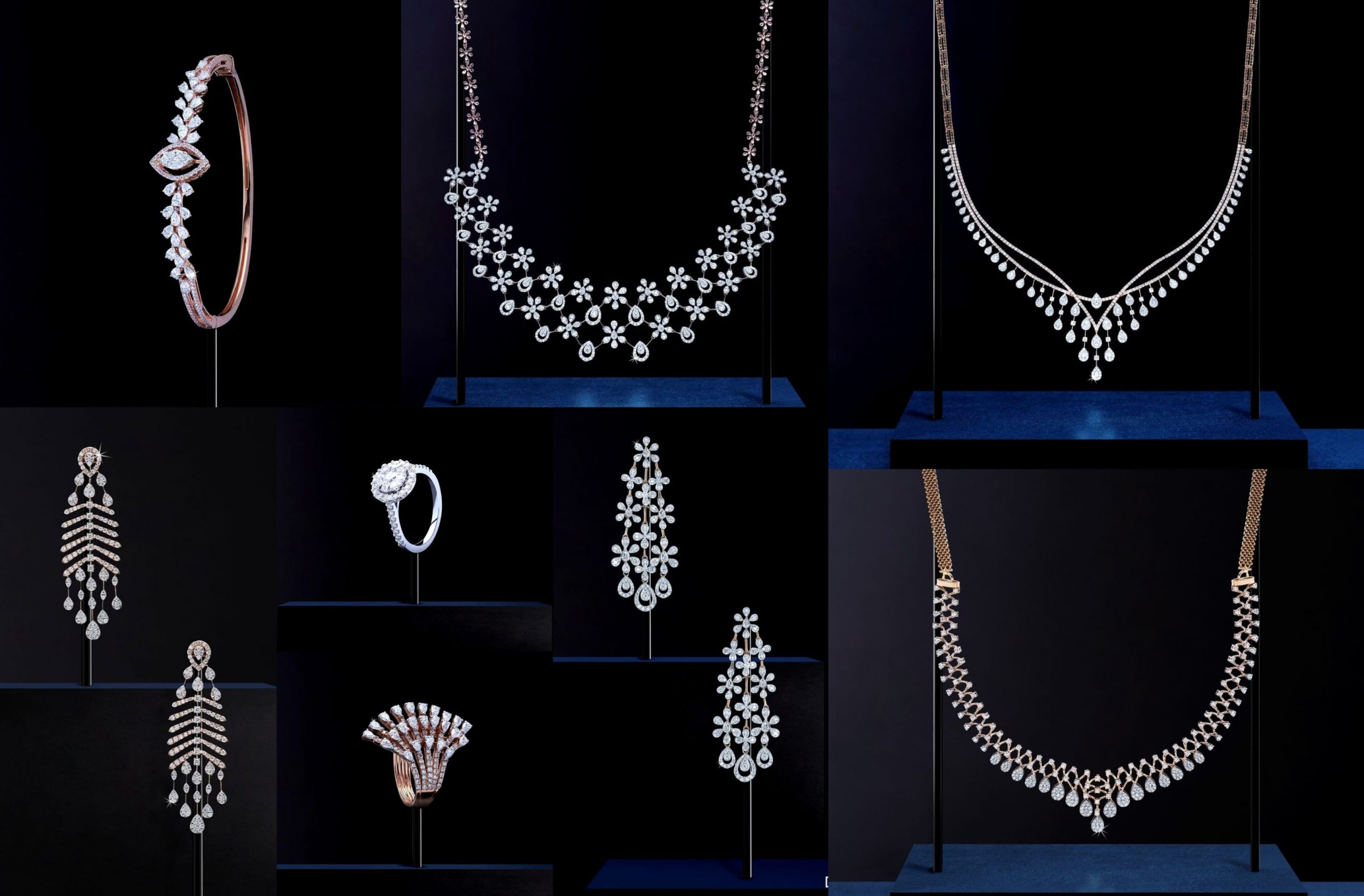 Stunning Delicate Jewellery Designs By Manubhai Jewellers
