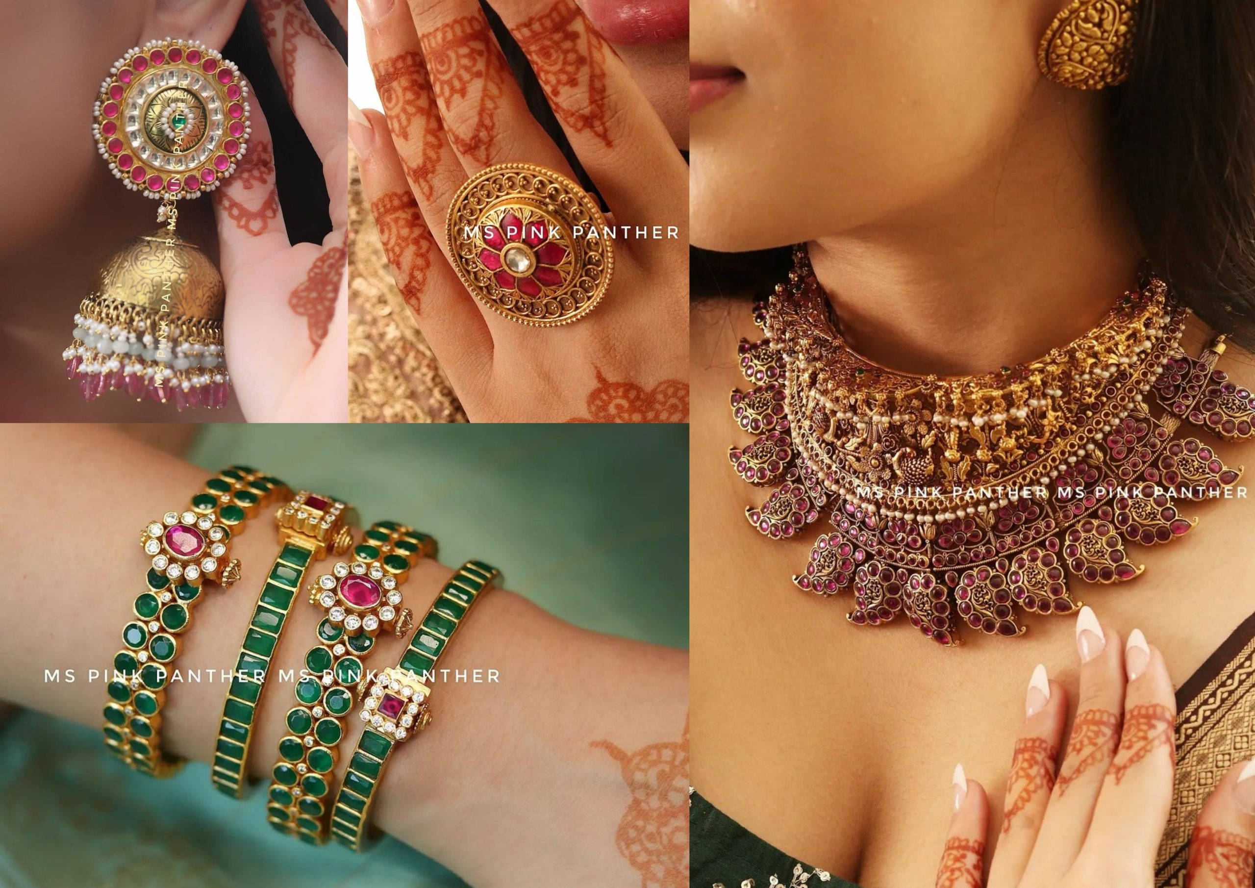 Stunning Jewellery Pieces From Ms. Pink Panther