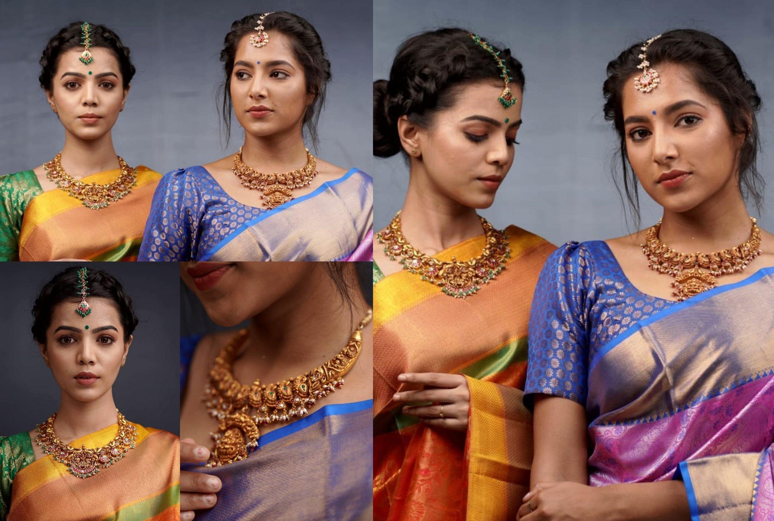 Nakshi Gold Lakshmi Choker By Parampariya