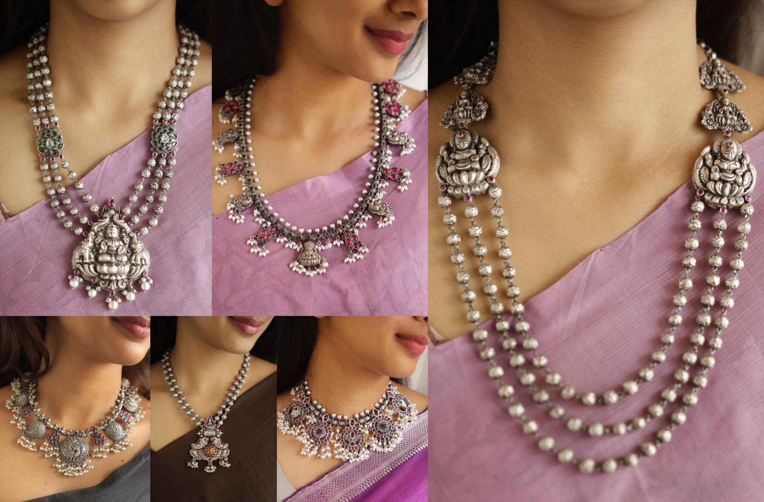 Silver Jewellery Exclusive Designs From Prade Jewels