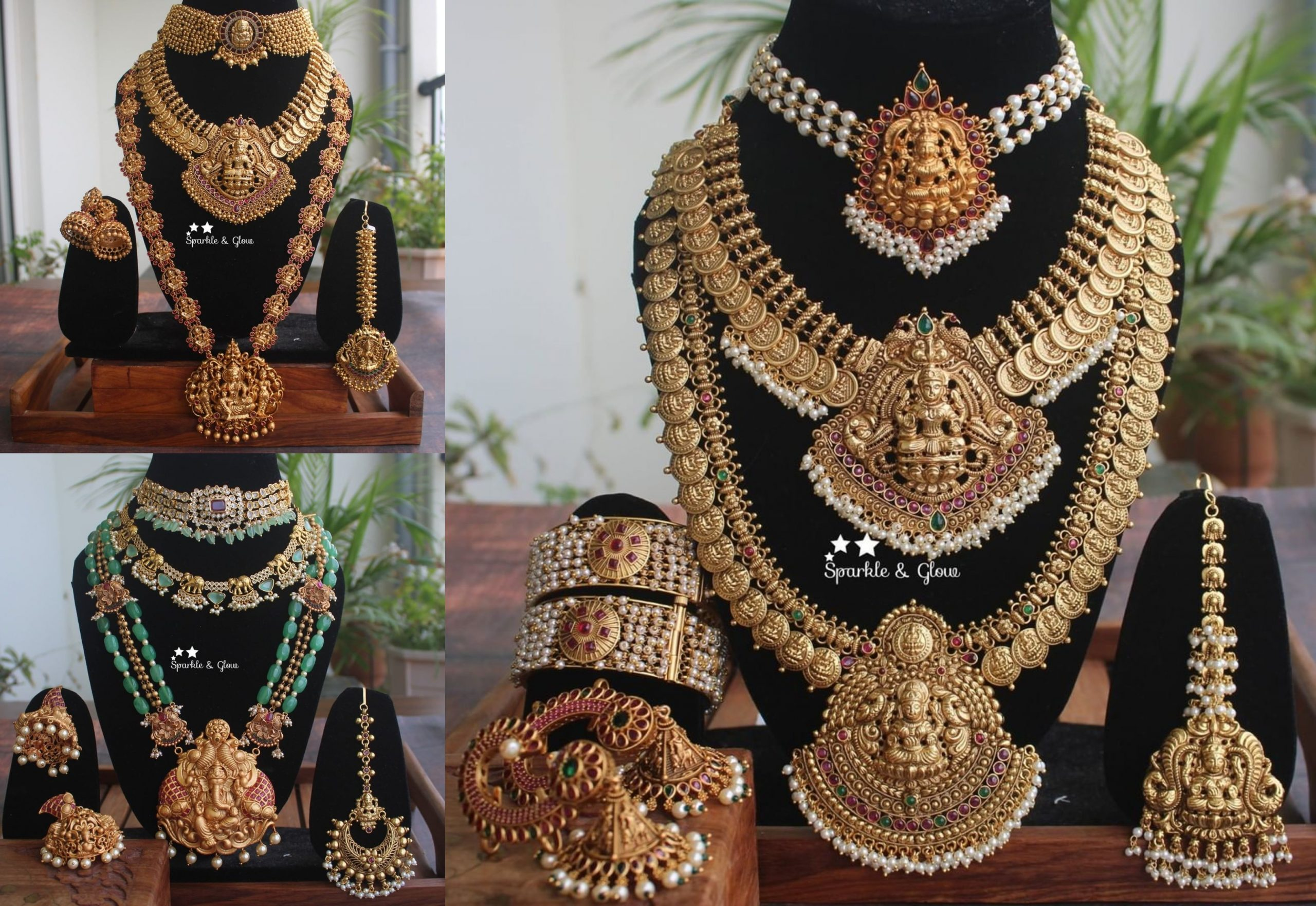 Bridal Jewellery Combo Collection From Sparkles By Archana