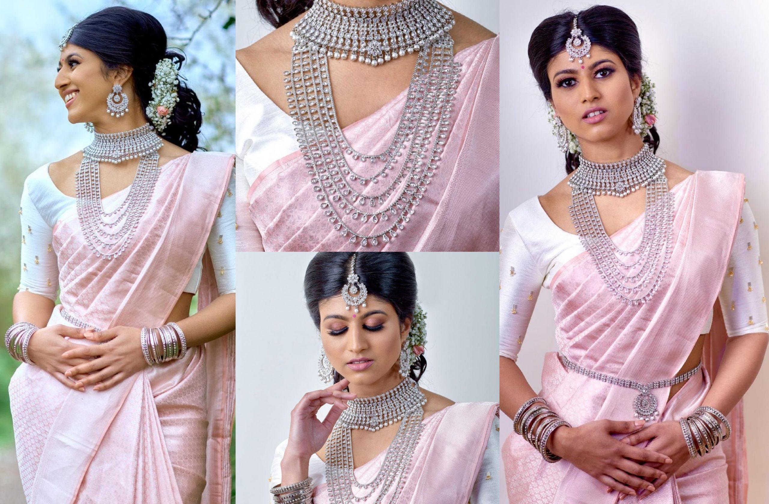 Diamond Jewellery Bridal Set By Thavaamaly Jewellery