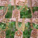 Traditional Necklace Jewellery Collection By South India Jewels