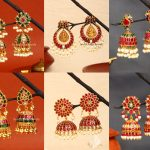 Kemp Studded Earrings Collection By South India Jewels