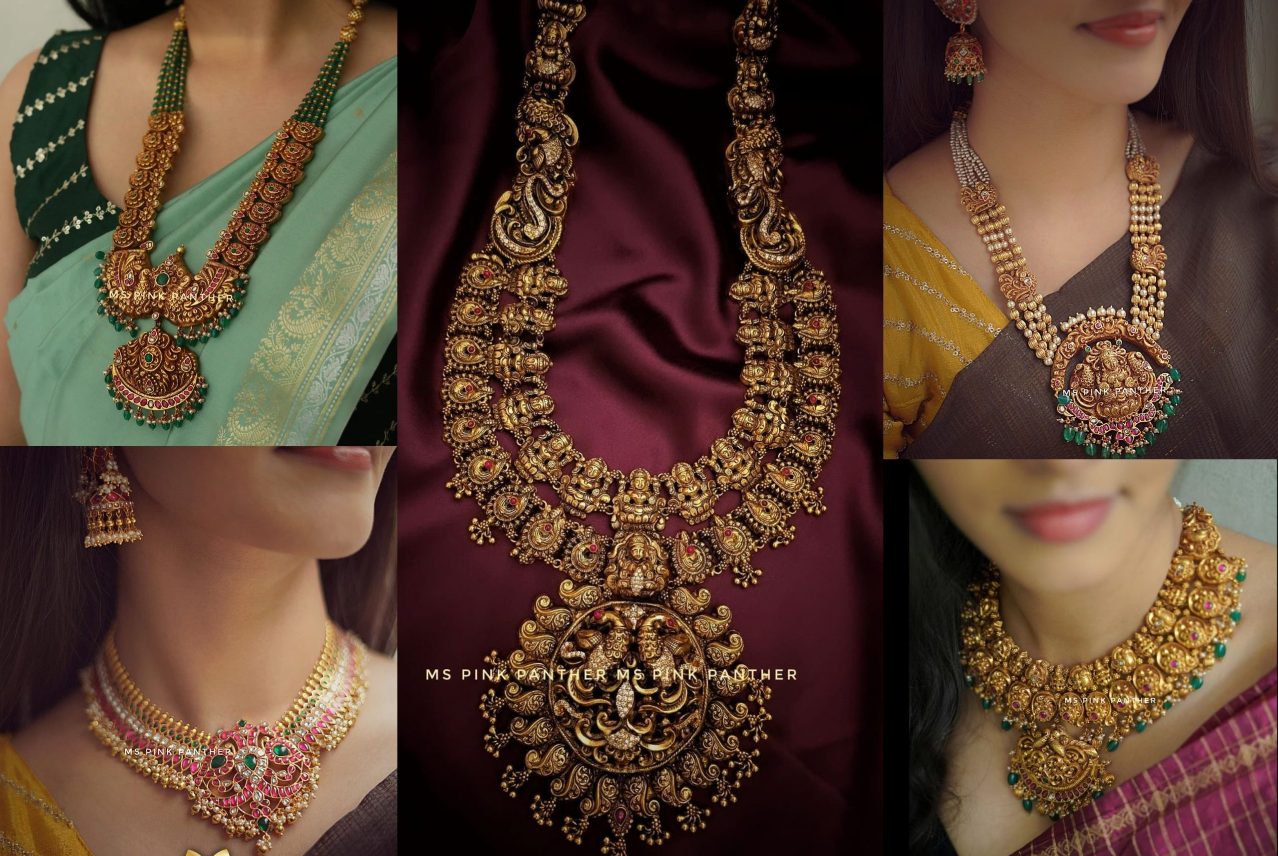Antique Nakshi Necklace Collection From Ms. Pink Panther