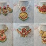 Traditional Kemp And Pearl Neckpieces By Rajatamaya!