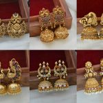 Traditional Bridal Earrings By South India Jewels!
