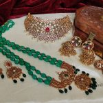 Stunning Grand Bridal Set By South India Jewels!